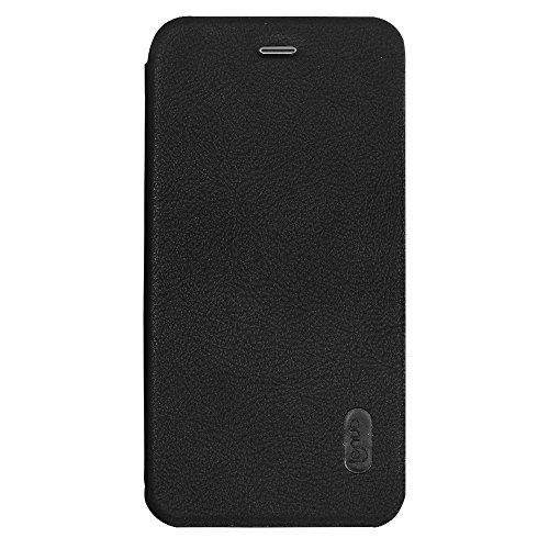 MXNET Iphone 7 Plus Fall, PU + PC Litchi Textur Horizontale Flip Leder Tasche mit Kartensteckplätzen CASE FÜR IPHONE 7 PLUS ( Color : Black )