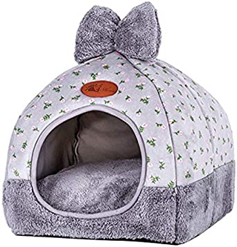 Petsure Pet Tent Cave Bed for Cats//Small Dogs Soft pet House for Dog and cat