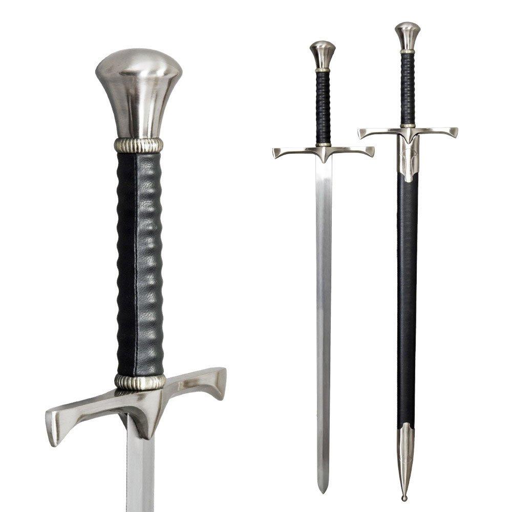S&A Kreuzritter Schwert mit Scheide B079JPRKL8 Schwerter Mittlere Kosten | Klein und fein