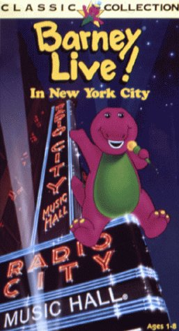 Barney Live! In New York City [VHS]