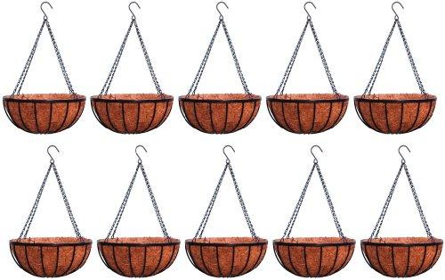 Georgian Rigid Iron Hanging Basket 14