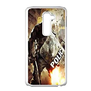 POLICE LG G2 Cell Phone Case White Protect your phone BVS_599171