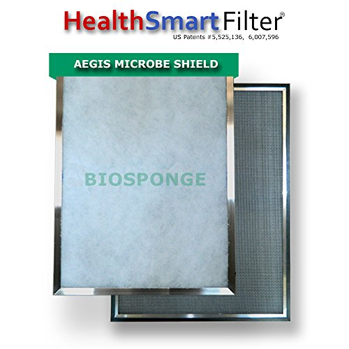 Cheap Furnace Filter Custom Sized HealthSmart with BioSponge Refill(s)