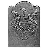 17'' x 24.75'' Eagle & Shield Fireback