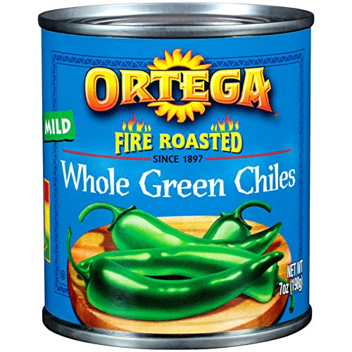 (Ortega Peppers, Whole Green Chiles, Mild, 7 Ounce)