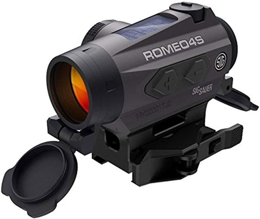 Sig Sauer SOR43021 Romeo4S Red Dot, Black