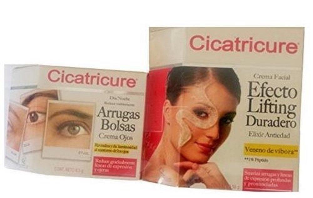 Cicatricure Set Completo (Una Caja Arrugas/Bolsas) y una caja Crema Facial Veneno de Vibora) by CICATRICURE (Image #1)