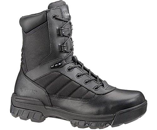 Bates Mens Enforcer 8 Inch Leather Nylon Uniform Boot  Black  10 M Us