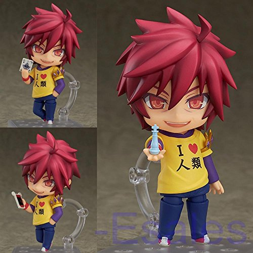 Anime No Game No Life Sora PVC Figure Action Toy Model Gift Collection Cute 10cm