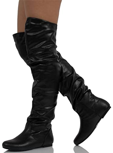 bdf0cd19f78f Nature Breeze Women s Vickie Hi Faux Suede Boot
