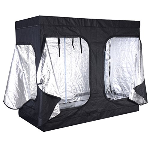 96''x48''x78'' Indoor Grow Tent Room Reflective Mylar Hydroponic Non Toxic Hut by Grow Tent