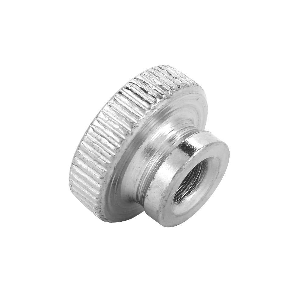 Rivet Nut Kit,M3 M4 M5 M6 M8 M10 Nickel Plated Carbon Steel Hand Tighten Knurled Thumb Nuts M5(5pcs)
