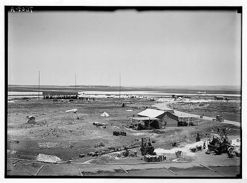 HistoricalFindings Photo: Landing of K.L.M. Plane Lydda Airport,Lod,Israel,Middle East,American Colony