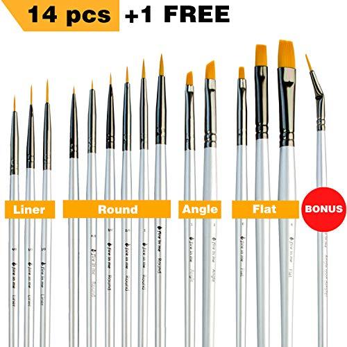 Pointed-Round Paintbrushes