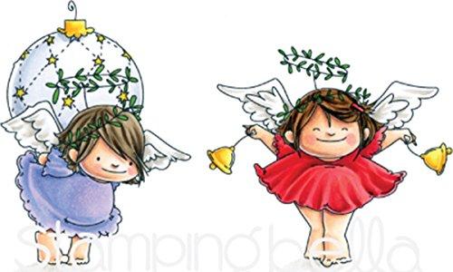 Stamping Bella Angel Squidgies Bells & Ornament Cling