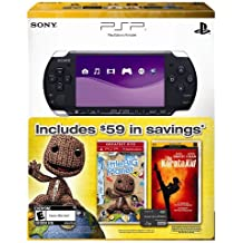 PlayStation Portable 3000 with LittleBigPlanet, The Karate Kid [UMD for PSP], and 1GB Memory Stick PRO Duo - 2010 Black Friday Bundle