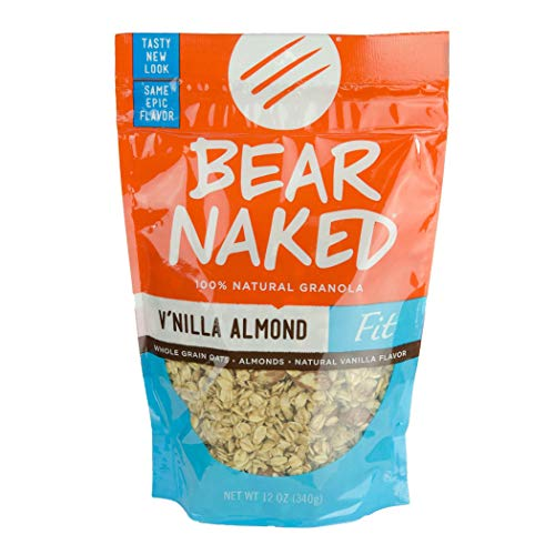 Bear Naked Granola (V'Nilla Almond Fit, 12-Ounce Bags, Pack of 6)