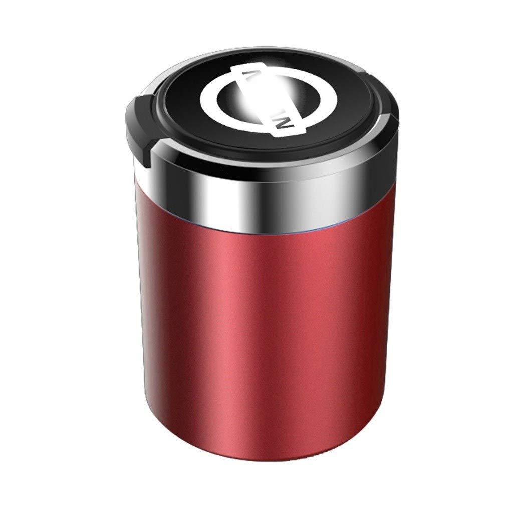 con interni per auto multifunzione leggeri con logo auto con coperchio dedicato a Nissan Car ashtray Posacenere per auto cilindro portatile senza fumo portabicchieri estraibile Color : B