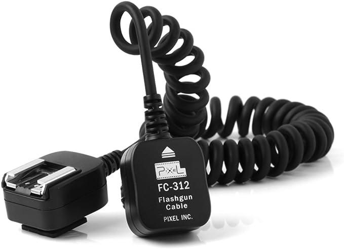 Pixel FC-311 10M E-TTL Cable Off-Camera Shoe Cord for Canon EOS DSLR Camera and Flashgun