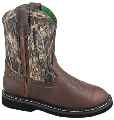 Smoky Mountain Youth Hickory Camo Wellington Boot