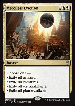 Magic: the Gathering - Merciless Eviction (211/351) - Commander 2016