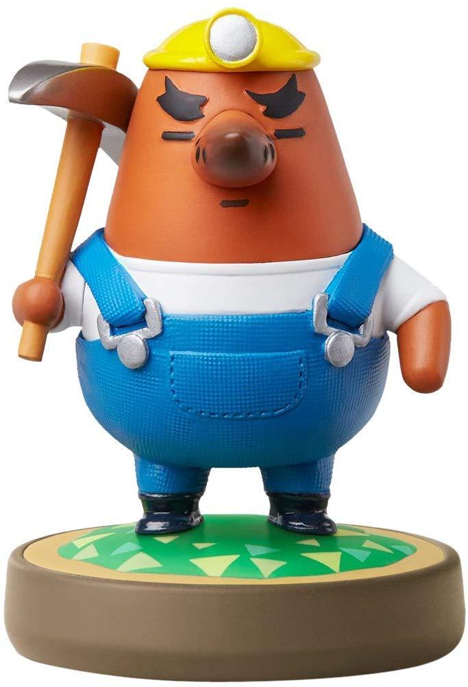 Reese - Mabel - Mr Resetti Amiibo (Animal Crossing Series) for Nintendo Switch - WiiU, 3DS 3 Pack (Bulk Packaging)