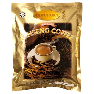 INSTANT COFFEE MIXED GINSENG 20 G. (Pack 15 sachets)