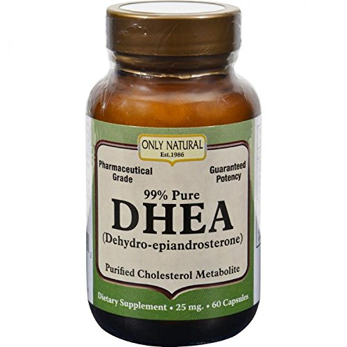ONLY NATURAL DHEA 99% 25MG, 60 CAP by Only Natural