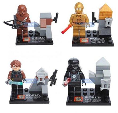STAR WARS Building Blocks toy Yuda assemble Minifigure bricks mini Figures set educational DIY toys Compatible With Lego (In Original BOX)
