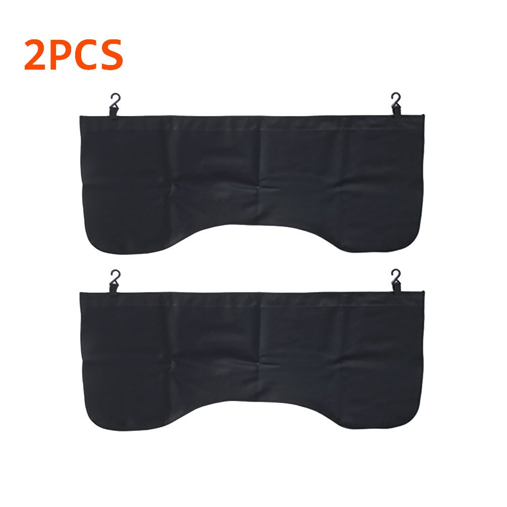2 PCS Black Automotive Magnetic Leather Fender Protector Side Fender Cover Wing Cover Car Gripper Mechanic Work Mat Pad