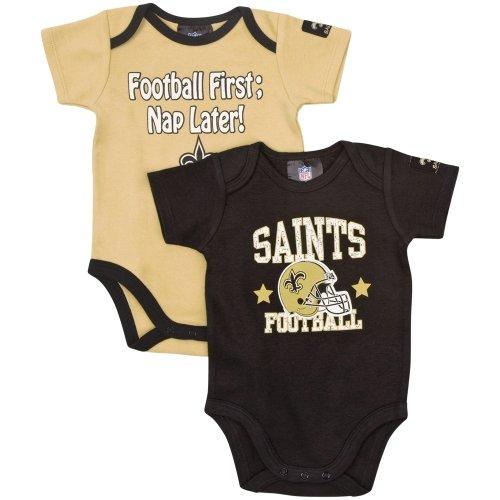 Orleans Saints Short Sleeve Bodysuit