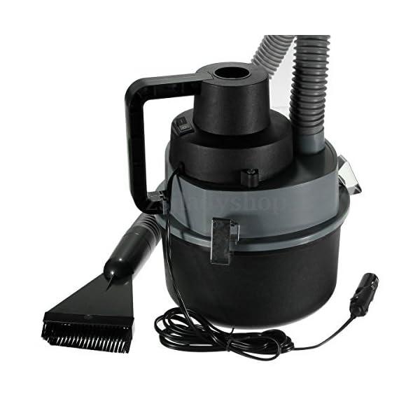 12V Mini Portable Car Vehicle Auto Recharge Wet Dry Handheld Vacuum Dirt Cleaner