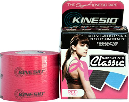 2'' Kinesio® Tex Classic W/R Red by Kinesio