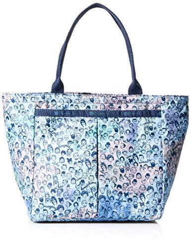 LeSportsac Classic Small Everygirl Tote Handbag, Global Greetings