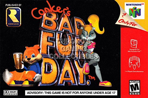 """Price comparison product image CGC Huge Poster - Conker's Bad Fur Day - Nintendo 64 N64 - N64014 (16"""" x 24"""" (41cm x 61cm))"""