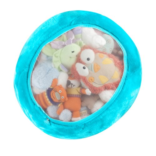 Boon Animal Bag Stuffed Animal Storage,Blue