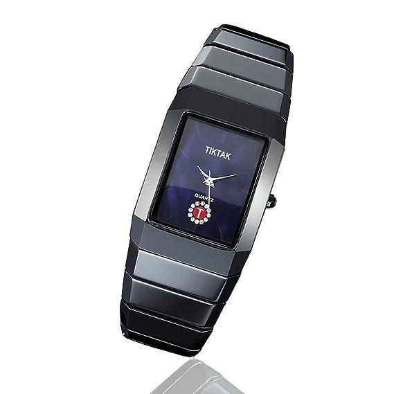 Mujeres Relojes, TIKTAK® Fashion Sapphire de cuarzo suizo relojes de perfume de piel para