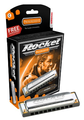 Used, Hohner M2013BX-BF Rocket Harmonica Boxed, Key of Bb for sale  Delivered anywhere in USA