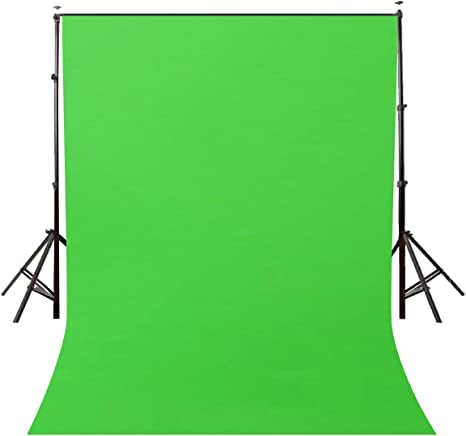 Large Green Screen Background