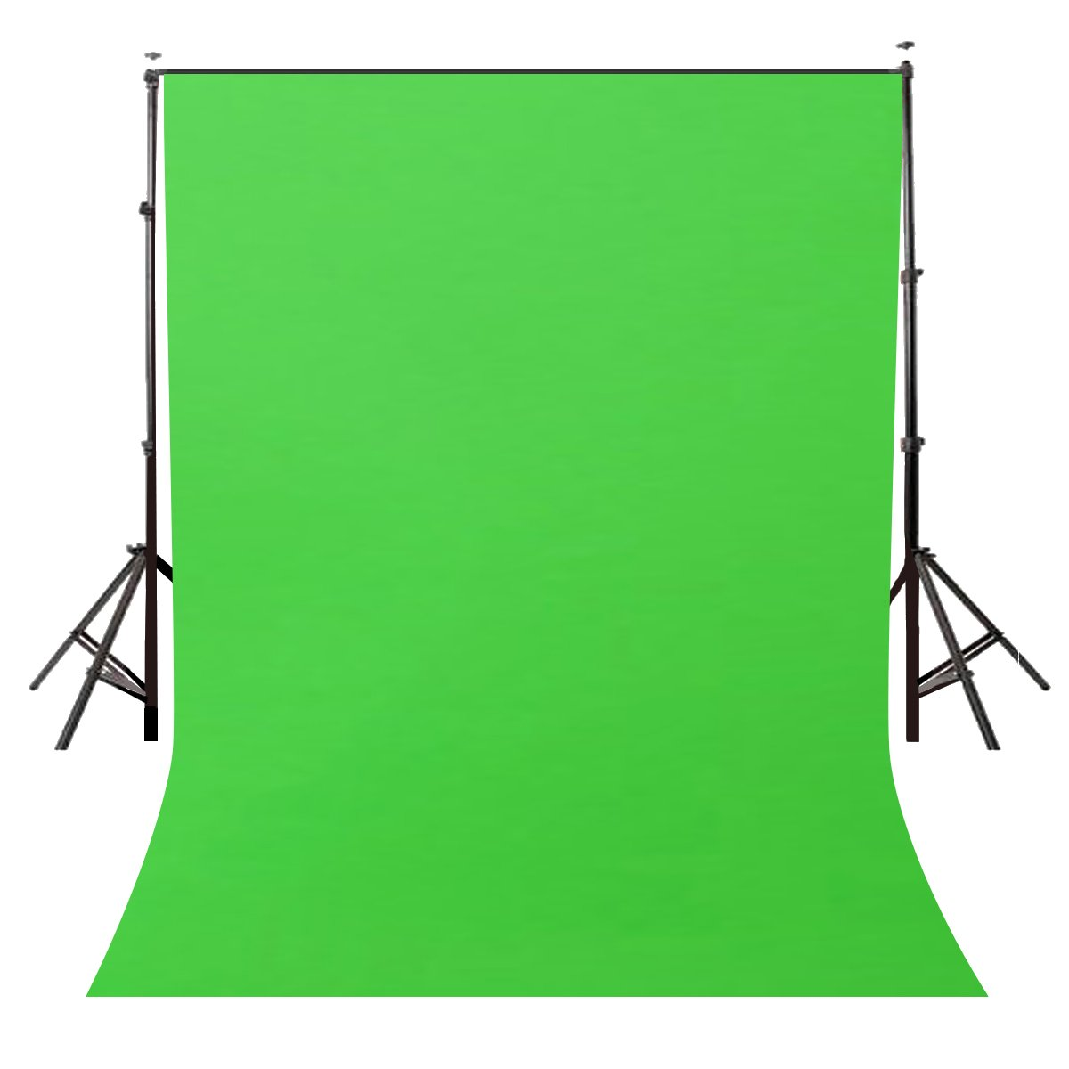 LYLYCTY Background 5x7ft Non-Woven Fabric Solid Color Green Screen Photo Backdrop Studio Photography Props LY063 by LYLYCTY