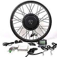 48V1500W Hub Motor Electric Bike Conversion Kit + LCD+ Disc Brake Theebikemotor