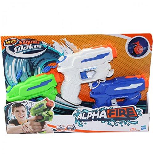 Hasbro - Nerf Super Soaker Alpha feu B5806