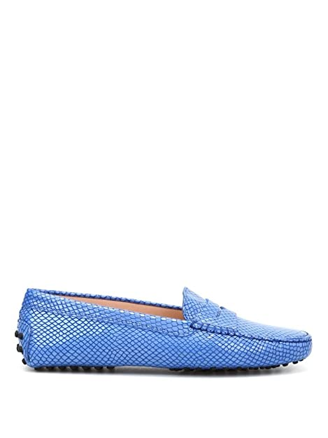 Tods - Mocasines para Mujer Azul Azul Claro IT - Marke Größe, Color Azul,