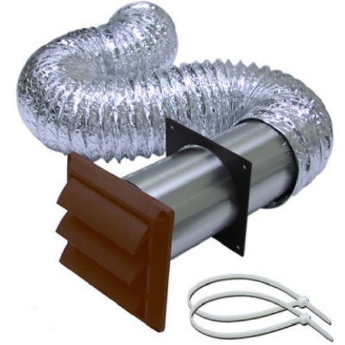 BROAN-NUTONE 1379B Louvered Dryer Vent Kit ()