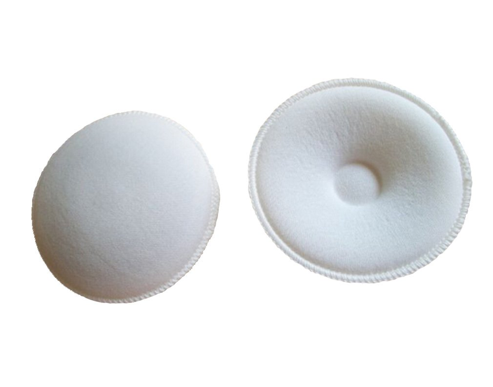 Soft Reusable Washable Nursing Maternity Breast Baby Feeding Breast Pads (pack of 4)