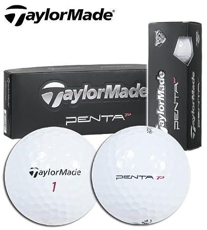 Amazon.com: TaylorMade Penta TP pelotas de golf (1 Docena ...