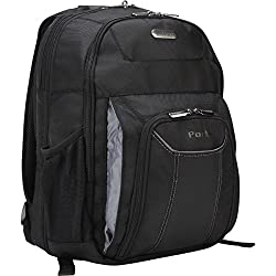 Targus Checkpoint-friendly Air Traveler Backpack For 16-inch Laptops, Black (Tbb012us)