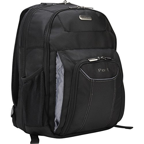 - Targus Professional Business and Travel Laptop Backpack, Checkpoint-Friendly Air Traveler with Protective Sleeve for 16-Inch Laptop, Black (TBB012US)