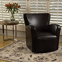 Christopher Knight Home 298433 Angelo Arm Chair, Brown