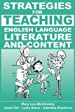 img - for Strategies for Teaching English Language, Literature, and Content book / textbook / text book